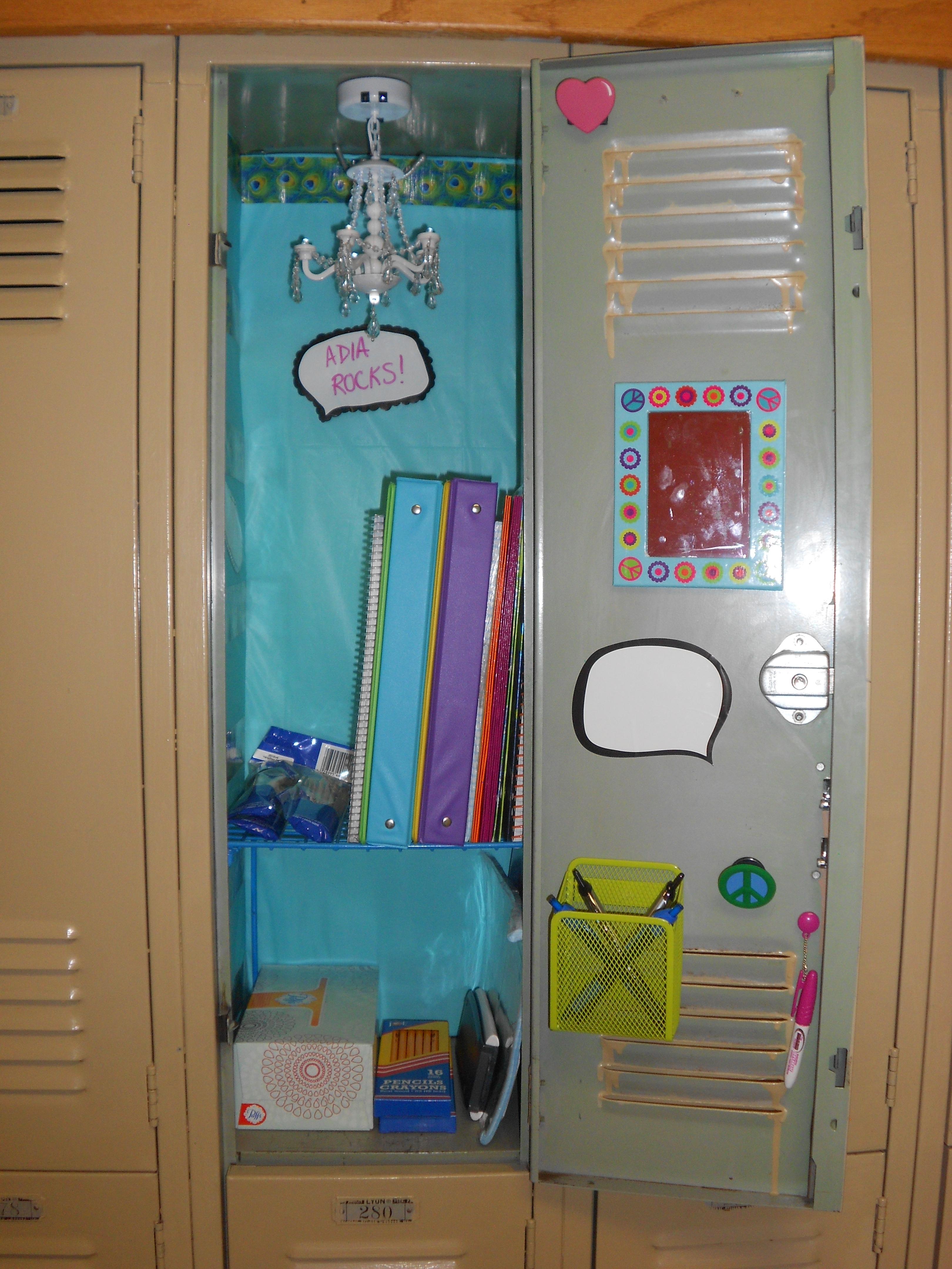 stunning locker decorating ideas - Locker Designs Ideas