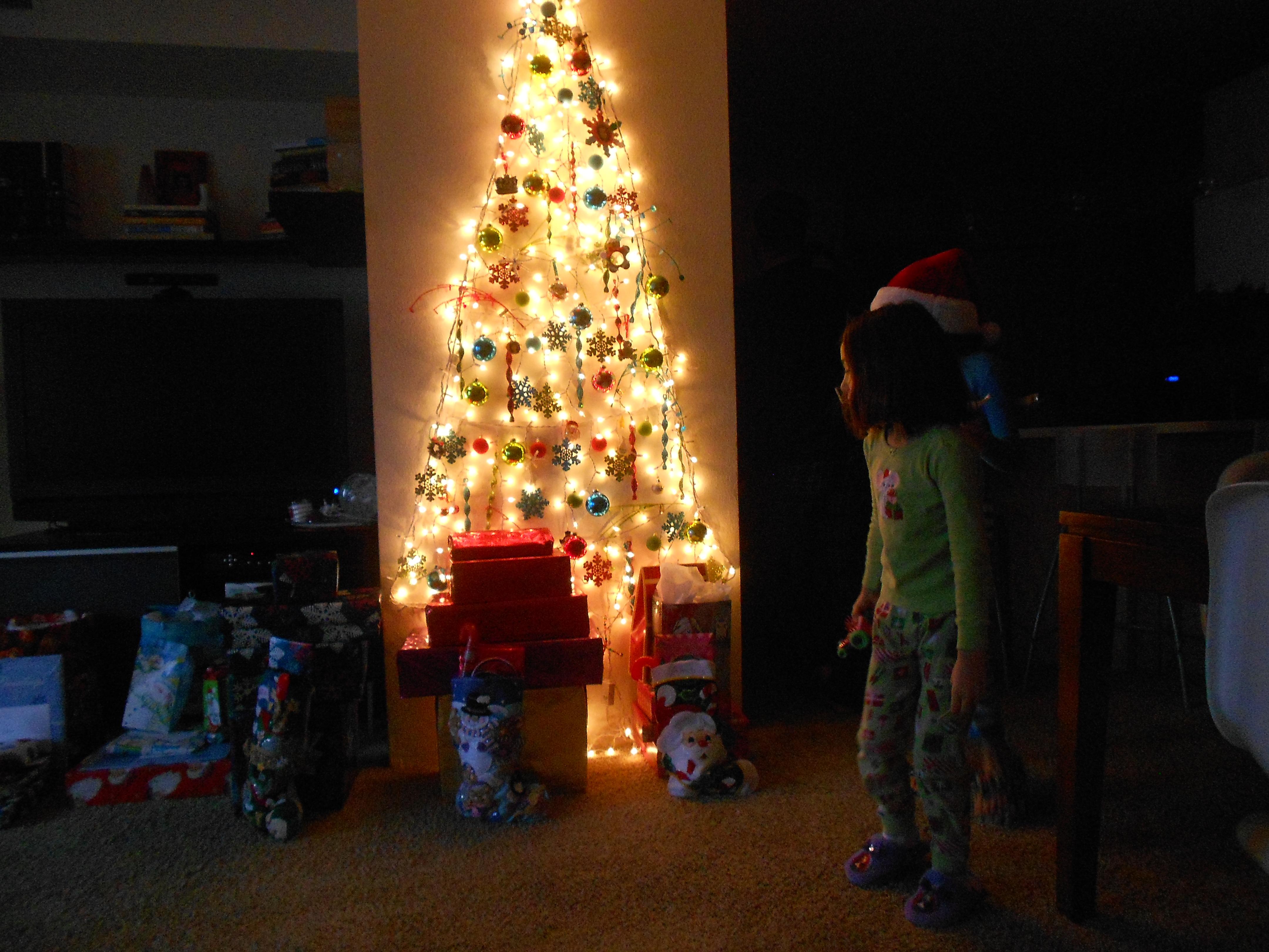Simple modern christmas tree a simple modern life matos light wall tree 045 aloadofball Choice Image