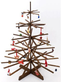 Funky Christmas tree | A Simple Modern Life