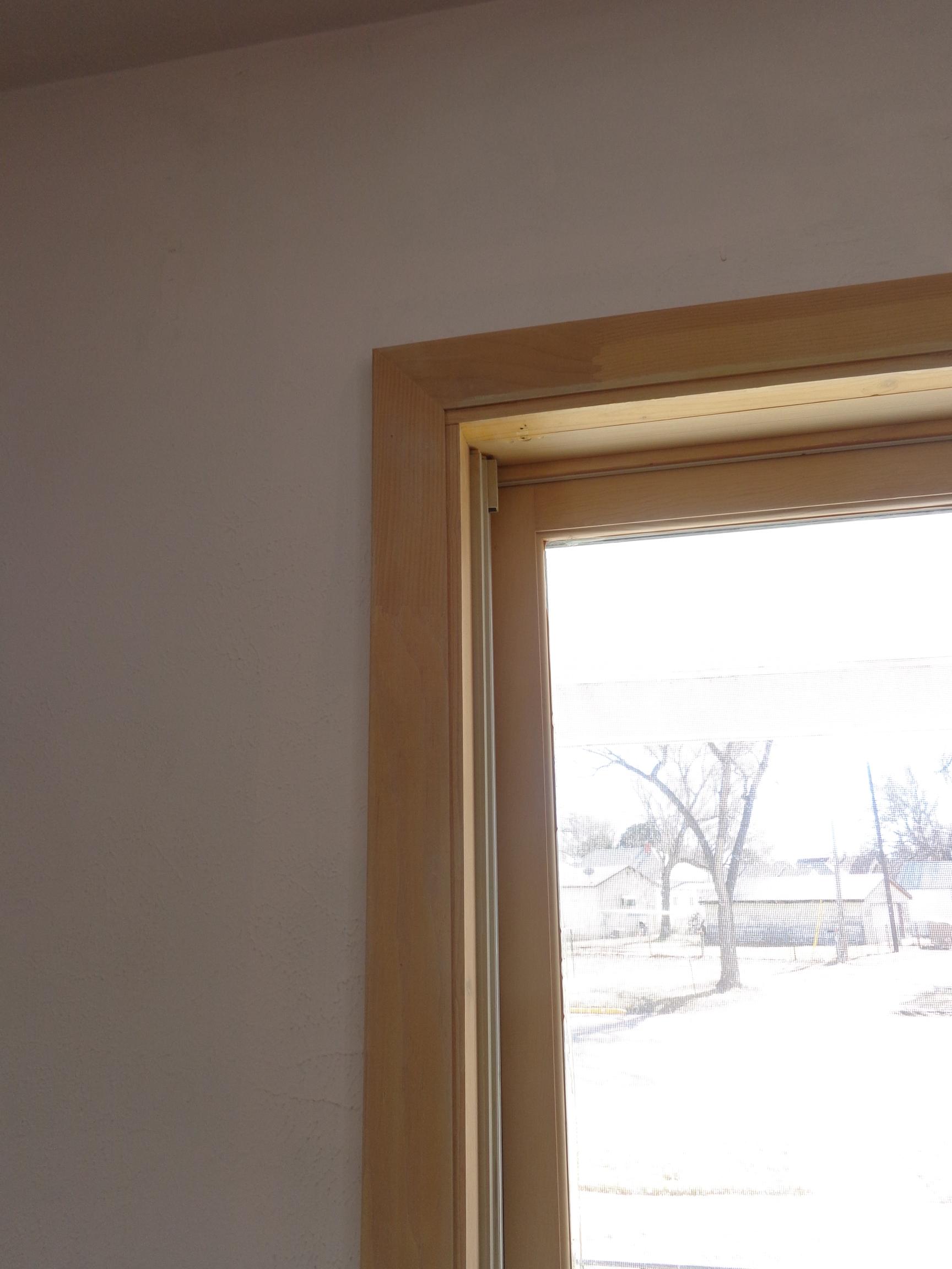 Simple window trim - 009