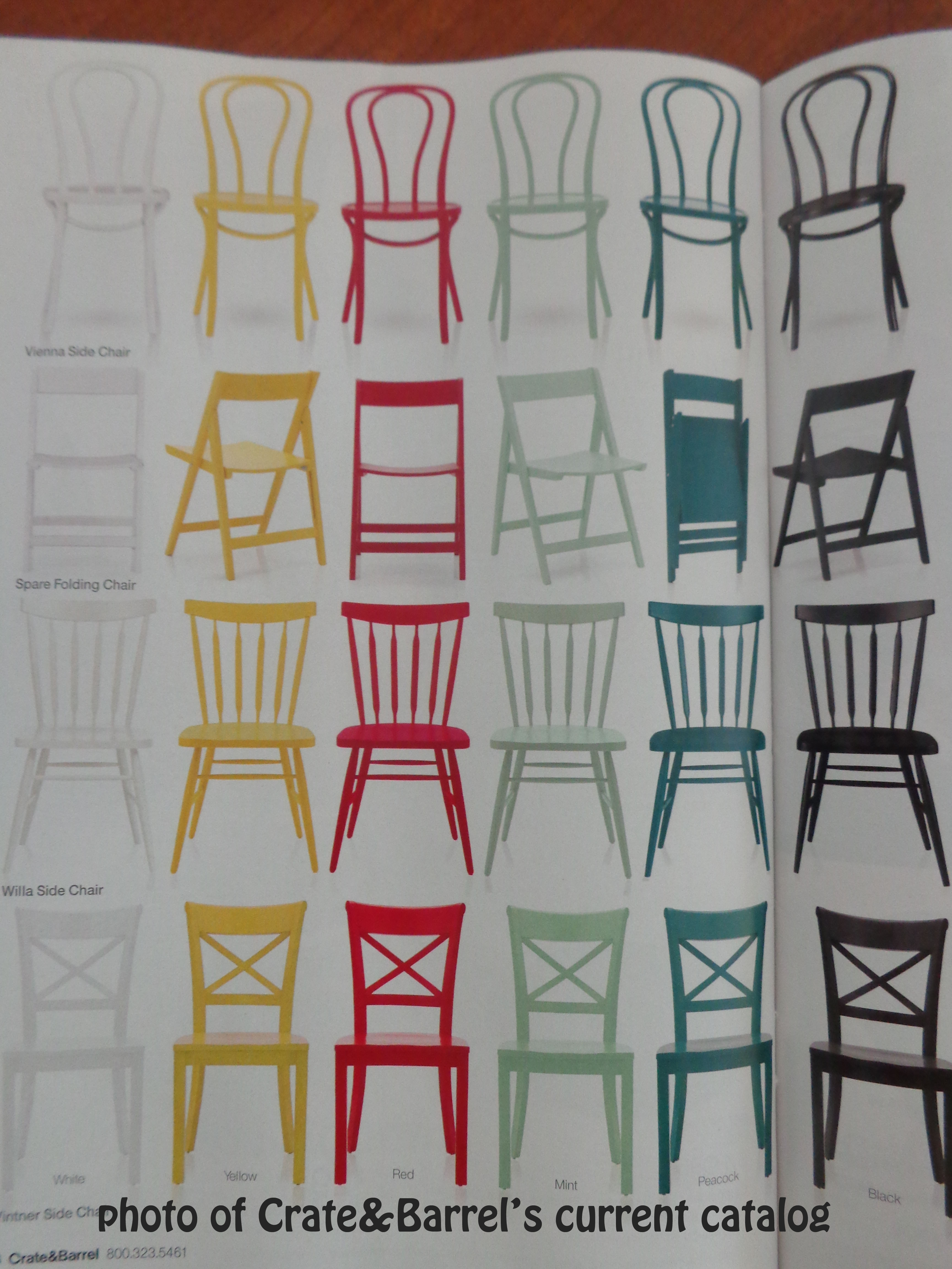 Different colored dining chairs - Doesn T This Post Make You Want To Paint All Of Your Dining Chairs A Different Color Or Paint All Of The Walls White And Add A Reclaimed Wood Wall As An